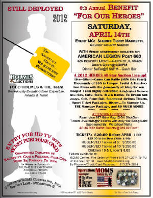 Benefit For Our Heroes